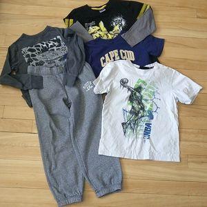 🇨🇦 Boys spring clothes bundle size 6-7